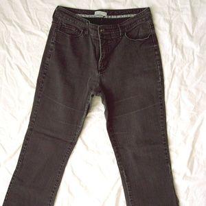 Women's Lee Platinum Label Black Jeans Size 16 M